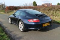 PORSCHE 911 (997) CARRERA 4S 2006 Manual in blue