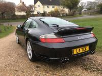 2002 996 Turbo. Black with Black and Great Spec