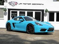 Cayman S 718 2.5 PDK finished in Miami Blue