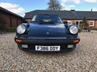 1988 Porsche 911 Turbo 930 Cabriolet Triple Black